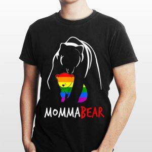 LGBT Momma Bear Gay Pride Equal Rights Rainbow shirt