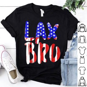 Lacrosse American Flag Independence Day Design Players shirt