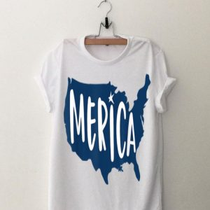 Merica USA Patriotic 4th of July Flag Labor Memorial Day shirt