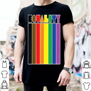 More Color More Pride Philly Equality Gay Pride Flag shirt