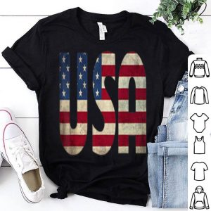 Patriotic Usa American Flag 4th Of July shirt