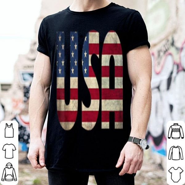 Patriotic Usa American Flag 4th Of July shirt