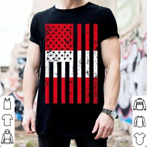 Peru American Flag For New Us Citizen shirt