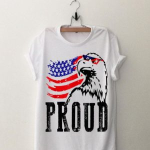 Proud Patriotic Eagle 4Th Of July American Flag shirt