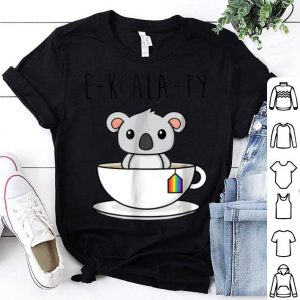 Rainbow Flag Koala Pun Cute Gay Pride LGBT shirt