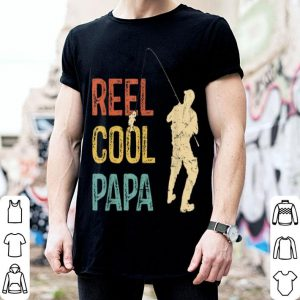 Reel Cool Papa Vintage Fisherman Father's Day shirt