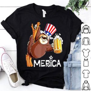 Sloth Uncle Merica 4th Of July shirt