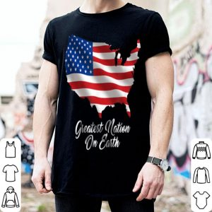 United States Of America Greatest Nation On Earth Usa shirt