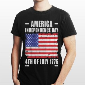 4Th Of July Independence Day American Flag Eagle 1776 Cool shirt