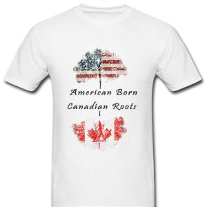 American Born Canadian Roots long sleeve