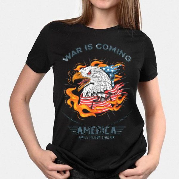 American Flag Eagle Patriotic 4Th Of July Usa Army shirt