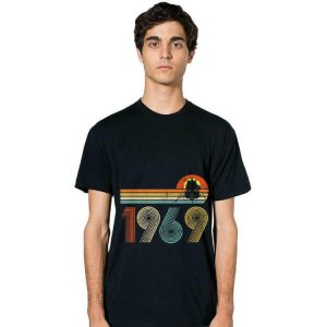 Apollo 11 50th Anniversary Moon Landing 1969 - 2019 Vintage long sleeve