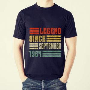 Awesome Legend Since September 1964 shirt