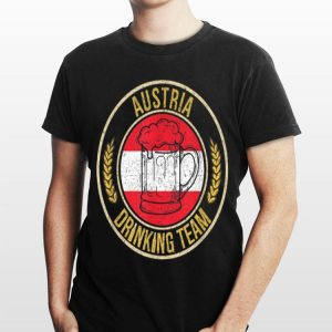 Beer Austria Drinking Team shirt