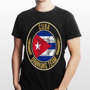 Beer Cuba Drinking Team Casual shirt