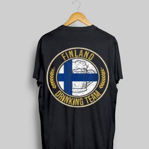 Beer Finland Drinking Team shirt