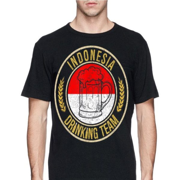 Beer Indonesia Drinking Team Casual shirt