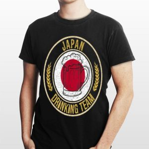 Beer Japan Drinking Team Casual shirt