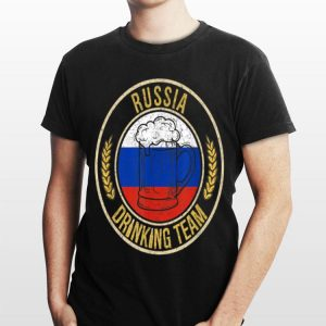 Beer Russia Drinking Team Casual shirt