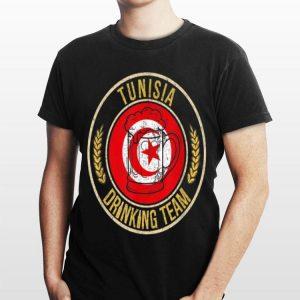 Beer Tunisia Drinking Team Casual shirt