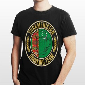 Beer Turkmenistan Drinking Team Casual shirt