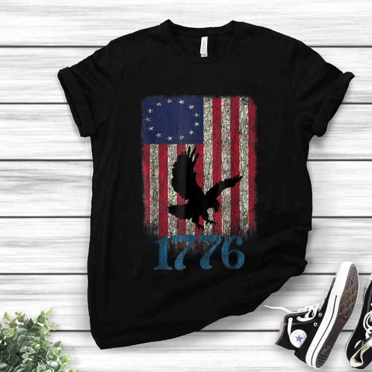 Betsy Ross Flag Eagle Usa 1776 4th Of July Happy Independence Day hoodie 1 - Betsy Ross Flag Eagle Usa 1776 4th Of July Happy Independence Day hoodie