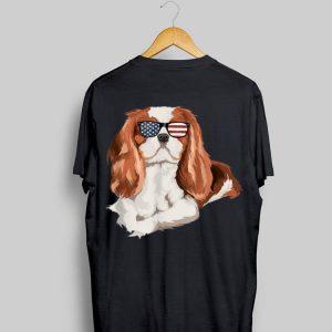 Cavalier King Charles Spaniel Sunglasses 4Th Of July shirt