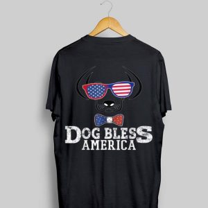 Dog Bless America 4Th Of July Dog shirt