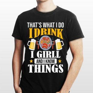 Drink beer and BBQ Grill Pitmaster - BBQ Grilling Party shirt