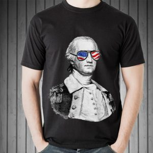 George Washington July 4th Founding Father Patriotic Sweater