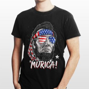 Merica Abe Lincoln 4Th Of July Men Boys Kids Murica shirt