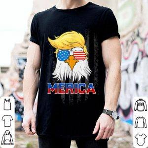 Merica Bald Eagle 4Th Of July American Flag shirt