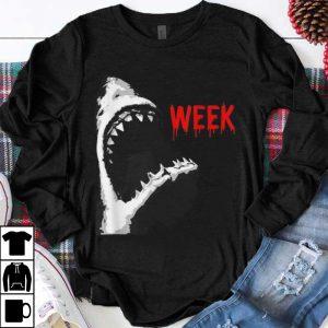 Original Bloody Week Shark Opening Jaw Teeth shirt