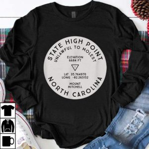 Premium State High Point North Carolina Mount Mitchell Hike shirt