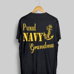 Proud US Navy Grandma shirt