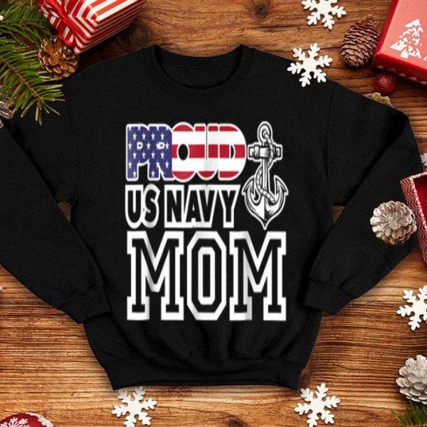 Proud Us Navy Mom Patrio shirt