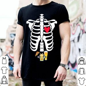 Skeleton beer shirt