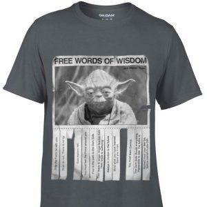 Star Wars Jedi Master Yoda Seagulls Poster Words Of Wisdom sweater