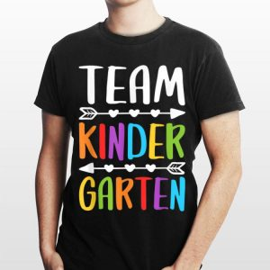 Team Kindergarten Teacher Back To School shirt