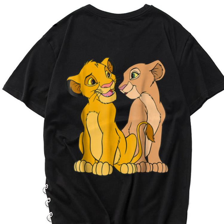 The best trend Disney The Lion King Young Simba and Nala Together shirt 1 - The best trend Disney The Lion King Young Simba and Nala Together shirt