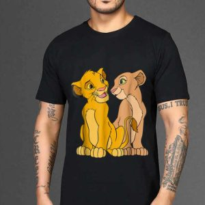 The best trend Disney The Lion King Young Simba and Nala Together shirt 1