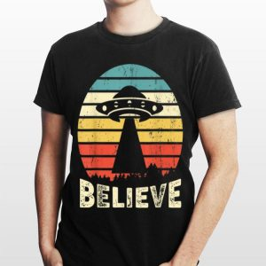 Vintage Alien UFO Hunter I Want To Believe shirt