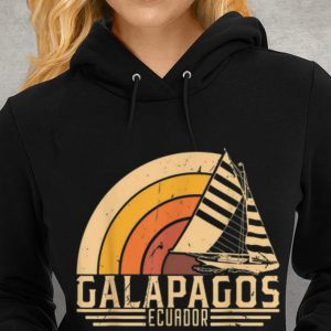 Vintage Galapagos Ecuador Sailing Vacation Youth tee