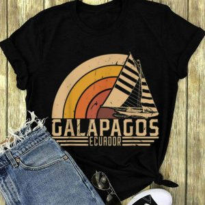 Vintage Galapagos Ecuador Sailing Vacation long sleeve