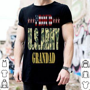 Vintage Proud Grandad Usarmy Veteran shirt