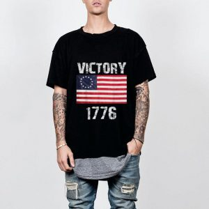 Wonderful Betsy Ross Flag 4th Of July Victory 1776 shirt