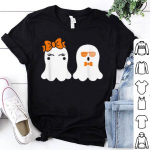 Nice Cutest Ghost Halloween Funny Boo ! Scary Sunglasses Usa Bow shirt