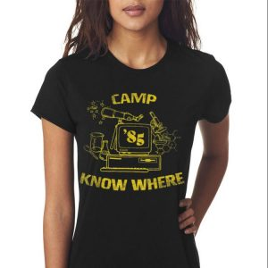 Awesome Camp Know Where 85 shirt 2