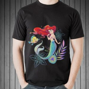 Awesome Disney The Little Mermaid Ariel And Flounder Sea shirt