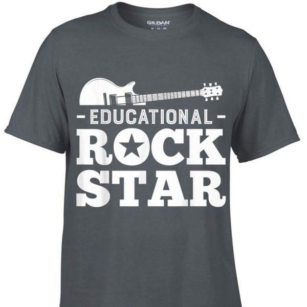 Awesome Educational Rockstar Rock Guitar shirt